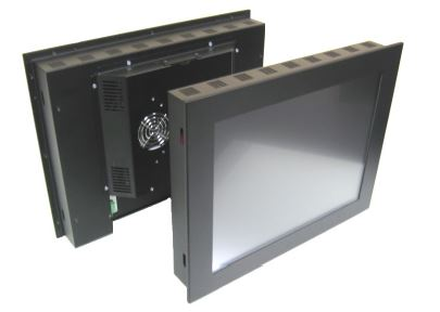 rear and panel mount touchcomputer
